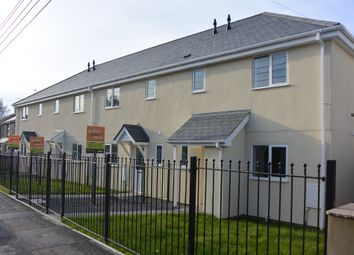 Thumbnail 3 bed end terrace house to rent in Crediton Road, Okehampton