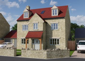 Thumbnail 5 bed detached house for sale in The Hollows, Long Compton