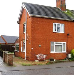 Thumbnail 2 bed semi-detached house to rent in Sleaford Road, Heckington, Sleaford
