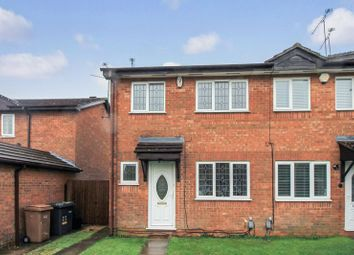 Thumbnail 3 bed terraced house to rent in Mees Close, Luton