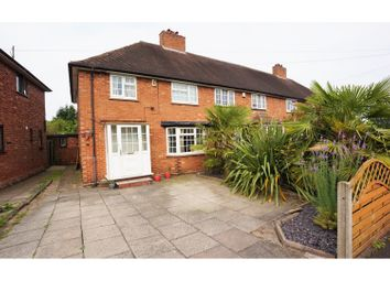 Thumbnail 3 bed end terrace house for sale in Gibbons Road, Sutton Coldfield