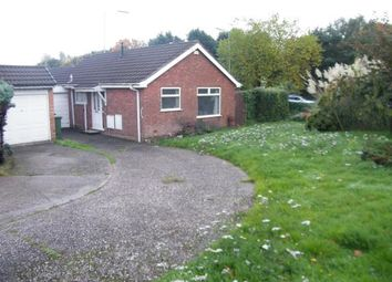 Thumbnail 1 bed bungalow for sale in Chapel Drive, Brownhills, Walsall