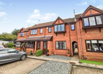 Thumbnail 2 bed terraced house for sale in Badgers Close, Skellingthorpe, Lincoln