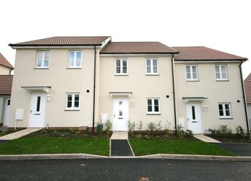 Thumbnail 2 bed terraced house to rent in Webbers Meadow, Woodbury, Exeter