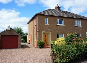 Thumbnail 3 bed semi-detached house for sale in Fraser Avenue, Blairgowrie