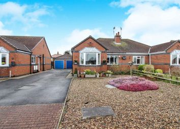 Thumbnail 2 bed semi-detached bungalow for sale in Manor Close, Driffield