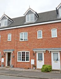Thumbnail 3 bed town house for sale in Raleigh Close, Stoke-On-Trent