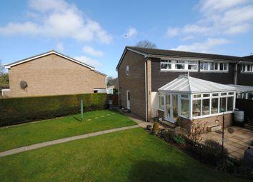 Thumbnail 3 bedroom end terrace house for sale in Hanborough Close, Eynsham, Witney