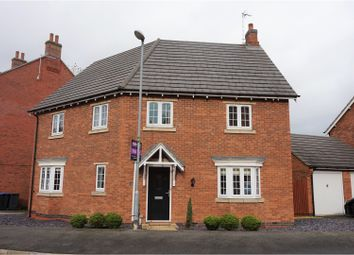 Thumbnail 4 bedroom detached house for sale in Millday Close, Kibworth