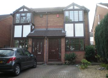 Thumbnail 2 bed semi-detached house to rent in Foxfoot Drive, Brierley Hill