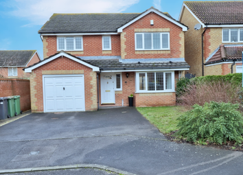 Thumbnail 4 bed detached house for sale in Damson Crescent, Fair Oak, Eastleigh