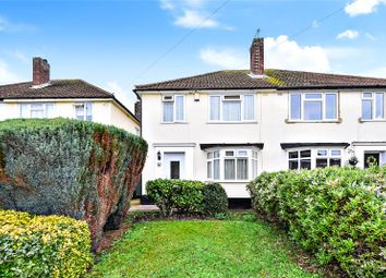 Thumbnail 3 bed semi-detached house for sale in Meadow Walk, Wilmington, Kent