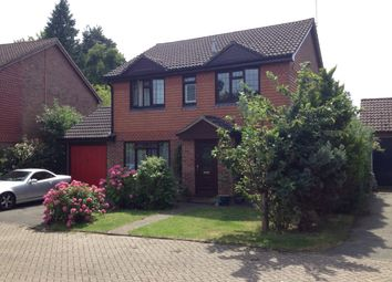 Thumbnail 4 bed detached house for sale in Badgers Copse, Camberley