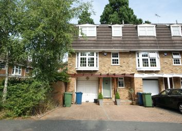 Thumbnail 4 bed town house to rent in Westbury Lodge Close, Pinner, Middlesex