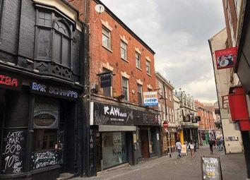 Thumbnail Leisure/hospitality for sale in 22-24 St James Street, Nottingham, Nottingham
