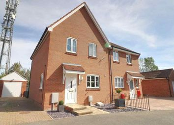 Thumbnail 3 bed semi-detached house for sale in Landseer Drive, Downham Market