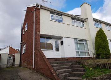 Thumbnail 3 bed property to rent in Parklands Road, Tonyrefail, Porth
