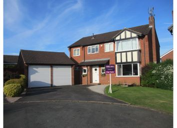 Thumbnail 5 bed detached house for sale in Elmwood Close, Stafford
