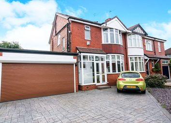 Thumbnail 4 bedroom semi-detached house for sale in Oakland Avenue, Offerton, Stockport