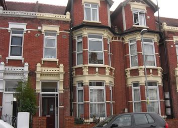 Thumbnail 1 bed flat to rent in Wimbledon Park Road, Southsea