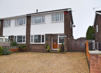 Thumbnail 3 bed semi-detached house for sale in Soames Crescent, Saxonfields, Stoke-On-Trent