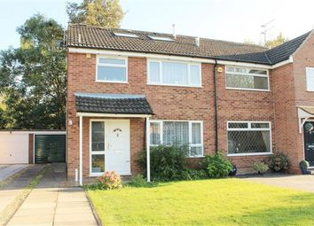Thumbnail 4 bed semi-detached house for sale in Wincote Close, Kenilworth