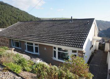 Thumbnail 2 bed semi-detached bungalow for sale in 4 Penrhiwgarreg Bungalow, Abertillery, Blaenau Gwent