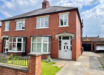 Thumbnail 3 bed semi-detached house for sale in Percy Road, Pocklington
