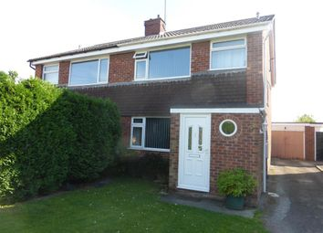 Thumbnail 3 bed semi-detached house for sale in Rockingham Road, Sawtry, Huntingdon