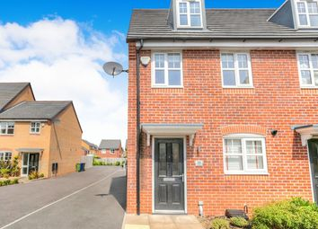 Thumbnail 3 bed semi-detached house to rent in Gregory Street, Hyde