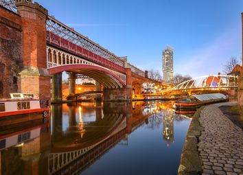 Thumbnail 2 bed flat for sale in Heyrod Street, Manchester