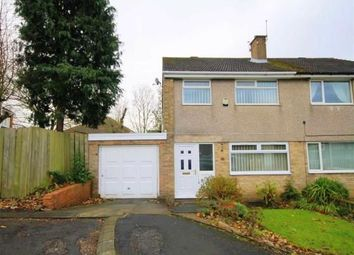 Thumbnail 3 bed semi-detached house for sale in Fallsway, Carrville, Durham