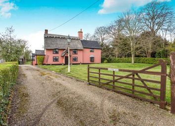 Thumbnail 3 bed detached house for sale in Ashfield, Stowmarket, Suffolk