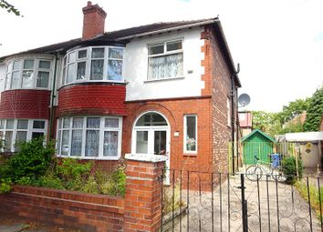 Thumbnail 3 bed semi-detached house for sale in Ruskin Road, Old Trafford, Manchester, Greater Manchester.
