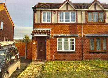 Thumbnail 3 bed semi-detached house to rent in Pennyroyal Close, Walsall