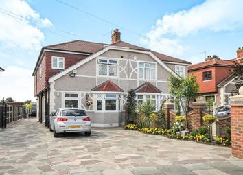 Thumbnail 4 bed semi-detached house for sale in Elmcroft Avenue, Sidcup, Kent, .