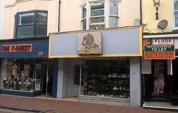 Thumbnail Retail premises to let in 14 Gardner Street, Brighton, East Sussex
