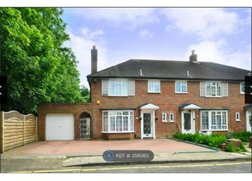 Thumbnail 3 bed semi-detached house to rent in The Sigers, Pinner