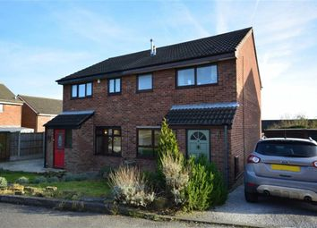 Thumbnail 3 bed semi-detached house for sale in Stranfaer Close, Swanwick, Alfreton