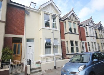 Thumbnail 3 bed terraced house to rent in Edgcumbe Avenue, Stoke, Plymouth