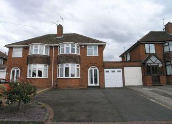 Thumbnail 3 bed semi-detached house to rent in Longmoor Road, Hayley Green, Halesowen