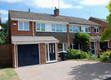 Thumbnail 4 bed semi-detached house to rent in Sunningdale Drive, Daventry, Northamptonshire