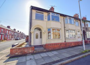 Thumbnail 3 bed end terrace house for sale in Beverley Road, New Ferry