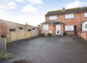 Thumbnail 3 bed semi-detached house for sale in Miller Avenue, Harbledown, Canterbury