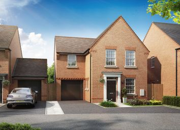 "Thumbnail 3 bed detached house for sale in ""Bradwell"" at Grove Road, Preston, Canterbury"