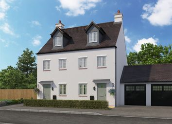 Thumbnail 3 bed end terrace house for sale in St Georges Fields, Wootton, Northampton