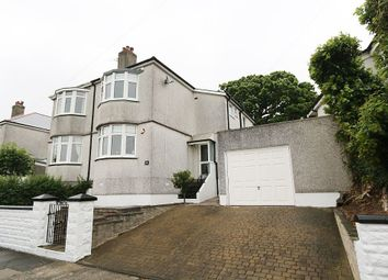 Thumbnail 3 bedroom semi-detached house for sale in Churchill Way, Plymouth, Devon