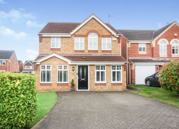 Thumbnail 4 bed detached house for sale in Brander Close, Doncaster