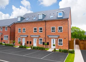 "Thumbnail 3 bed terraced house for sale in ""Norbury"" at Beech Croft, Barlby, Selby"
