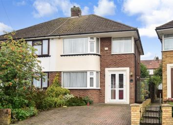 Thumbnail 3 bed semi-detached house for sale in Northumberland Avenue, Rainham, Gillingham, Kent